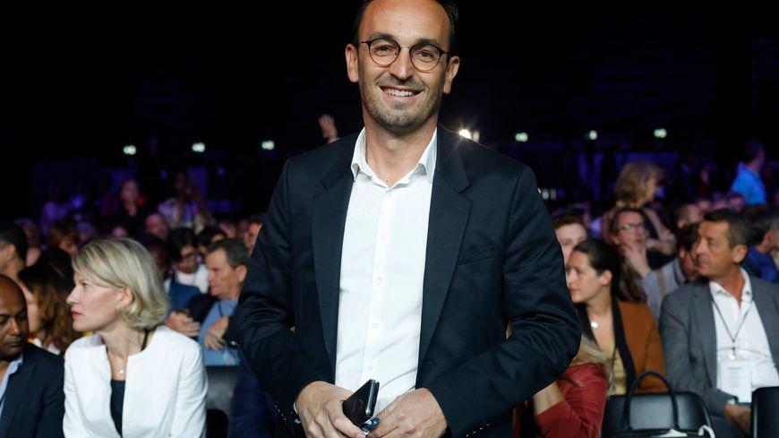 Thomas Cazenave le candidat LREM aux municipales à Bordeaux, lors du campus des territoires du parti, en septembre à Bordeaux
