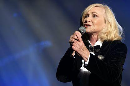 La chanteuse Michèle Torr en concert au Zénith du Grand Nancy 19 janvier 2018.