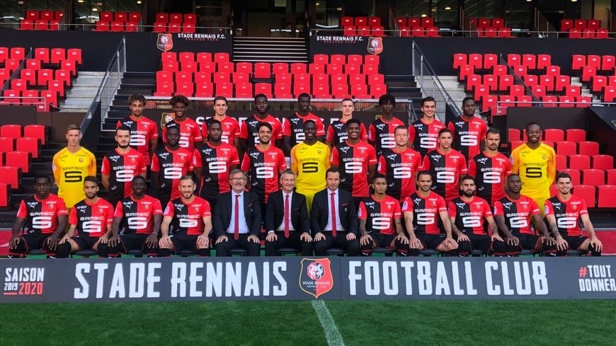 La photo officielle du Stade Rennais pour la saison 2019 / 2020