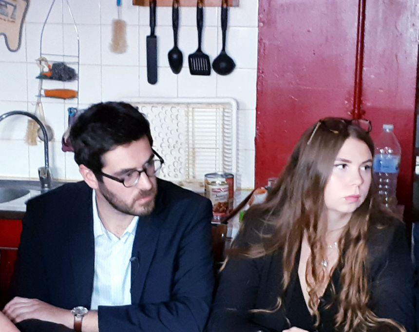 Julien Poix et Elodie Cloez, chefs de file de la France Insoumise pour les municipales à Lille