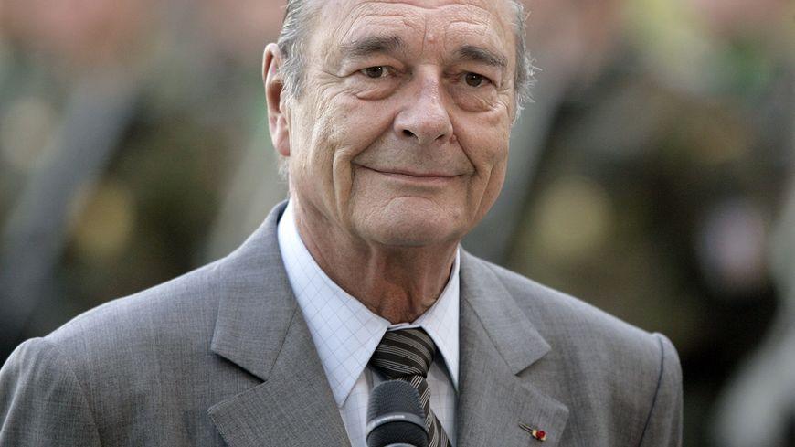 Jacques Chirac en 2007.