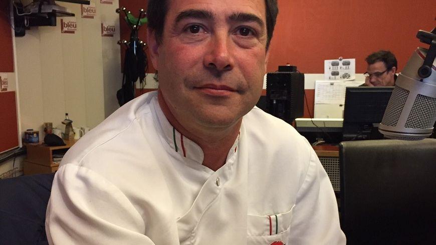 Alain Longeval Chef du Restaurant l'Abattoir   12 Avenue de L'Abattoir à Limoges.