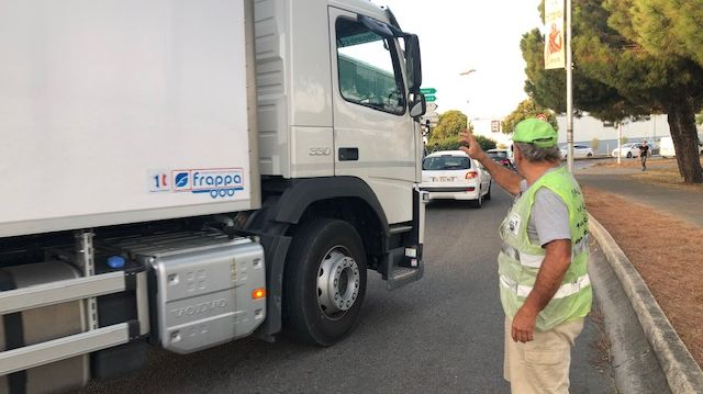 Les Gilets Jaunes de retour en ce mois de septembre 2019 sur le rond-point d'Alès (Gard)