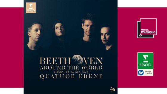 Sortie CD : Beethoven around the World - Quatuor Ebène