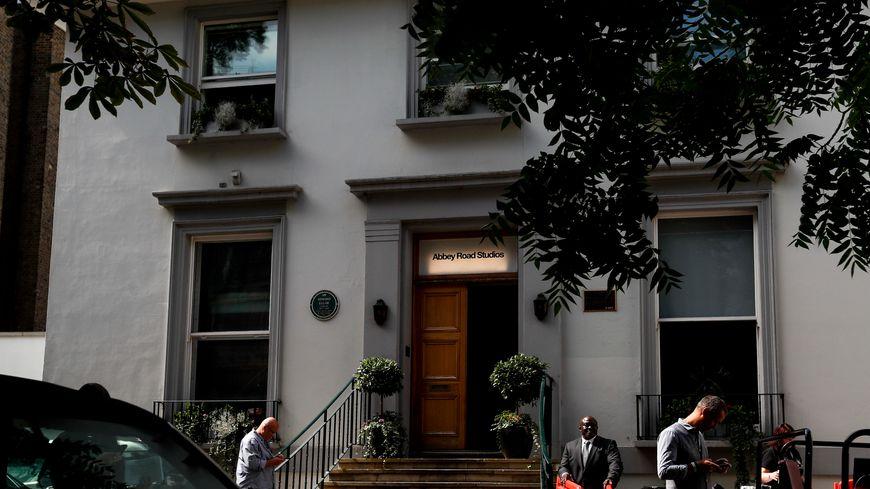 Photo prise le 8 août 2019 montre le fameux studio Abbey Road à Londres, en Grande-Bretagne.