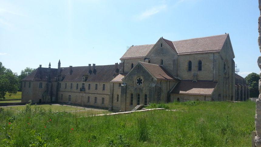 L'abbaye de Noirlac date du XIIéme siècle