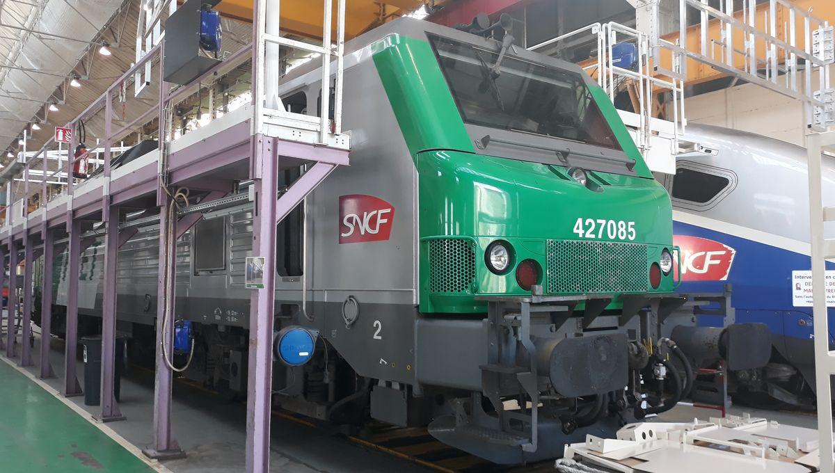 Un train de fret autonome va voir le jour à Alstom Belfort
