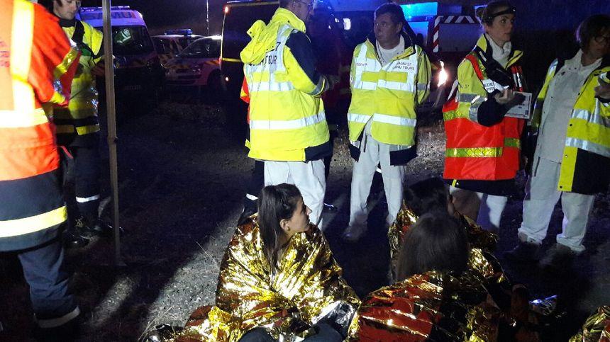 L'exercice a mobilisé d'importants services de secours