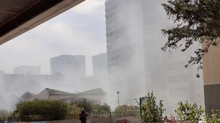 Incendie cité Paul Eluard Bobigny, le 18 septembre 2019