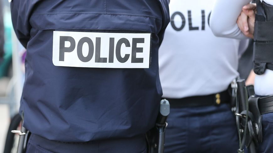 Photo police illustration