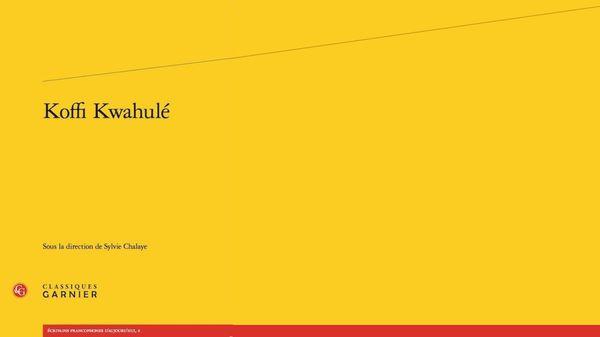 Jazz Culture : Koffi Kwahulé