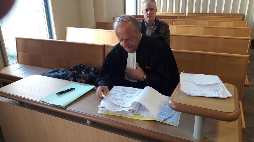Maître Gerard Welzer au Tribunal de Commerce d'Epinal