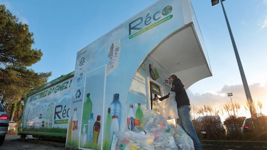 Consigne réservée aux bouteilles plastiques (photo d'illustration)