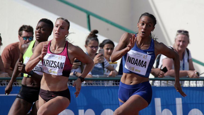 Solène Ndama avait battu cinq de ses records personnels lors du Décastar de Talence.