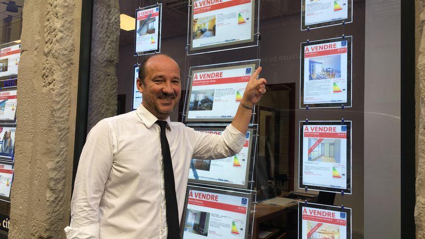Pascal Ridoux, directeur de l'agence immobilière Citya