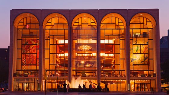 The Metropolitan Opera in New York, designed by Wallace K. Harrison and built in 1966