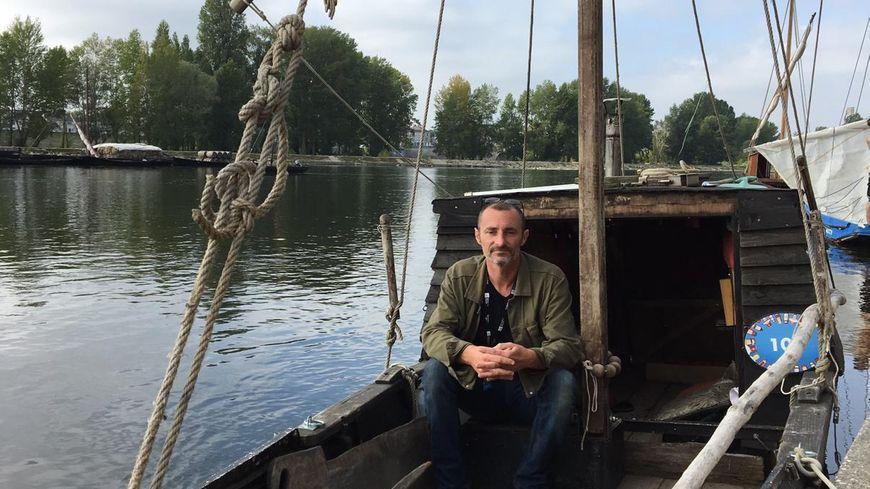 Anthony Gorius est présent au festival de Loire à Orléans cette semaine