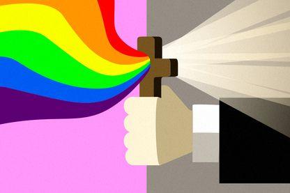 """Le but de ces """"stages"""" ou """"séminaires"""" est amener une personne homosexuelle à changer d'orientation sexuelle... ou à choisir la chasteté."""