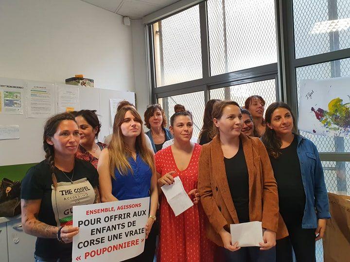 Les employées de la pouponnière de Corse en appellent aux pouvoirs publics