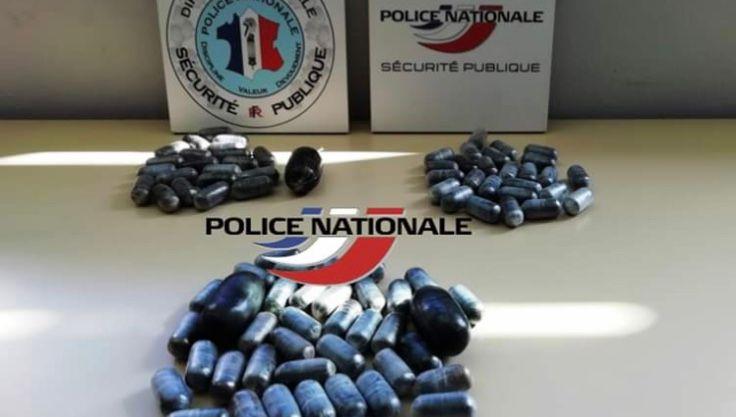 Un kilo de cocaïne saisi à Poitiers par la police jeudi chez un revendeur