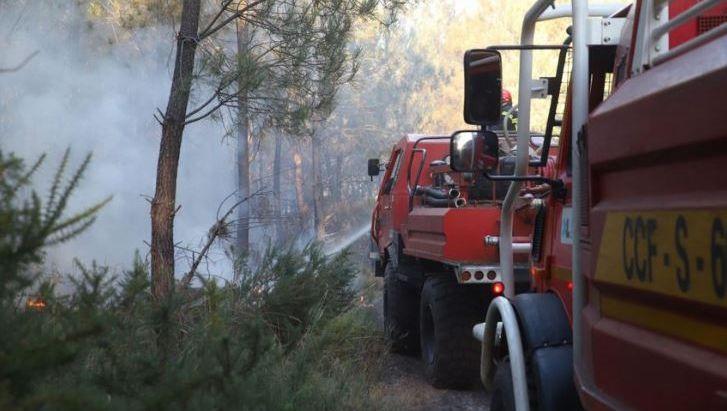 Un pompier volontaire landais soupçonné d'avoir causé deux gros feux de forêt en juillet dans les Landes et en Gironde