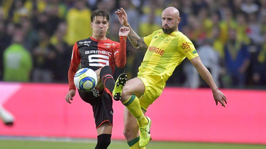 Le défenseur du FC Nantes, Nicolas Pallois, a une fois encore réalisé un très grand match, ce mercredi soir, face au Stade Rennais.