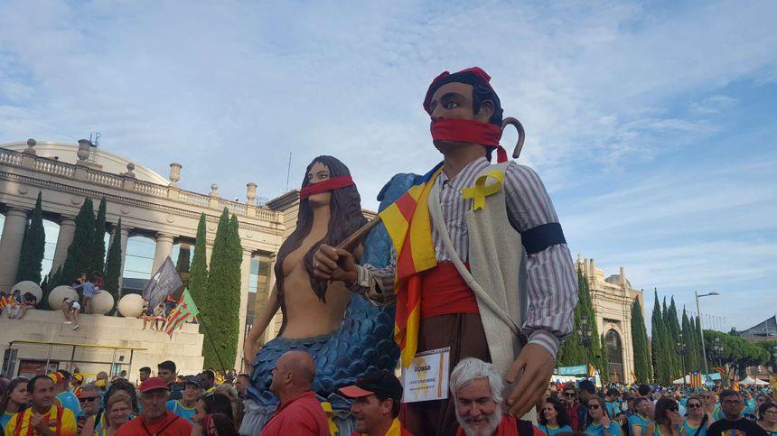 Les géants catalans étaient de sortie - Radio France