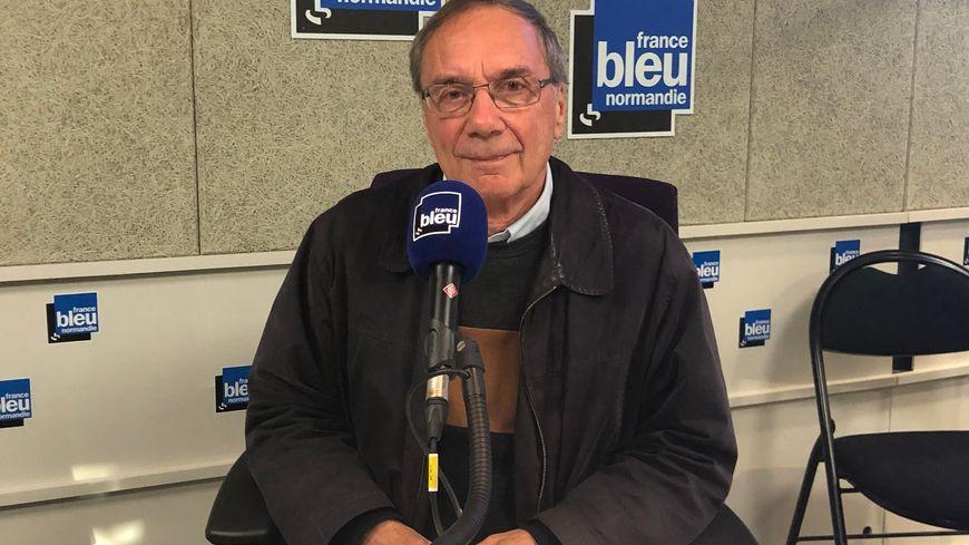 Gérard Massot, président de SOS Amitié Caen