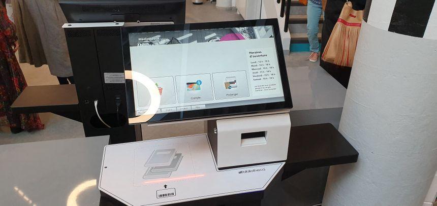 Les prêts et retours sont désormais automatisés avec des bornes