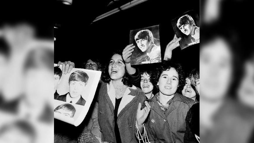 La folie Beatles dans les années 1960.
