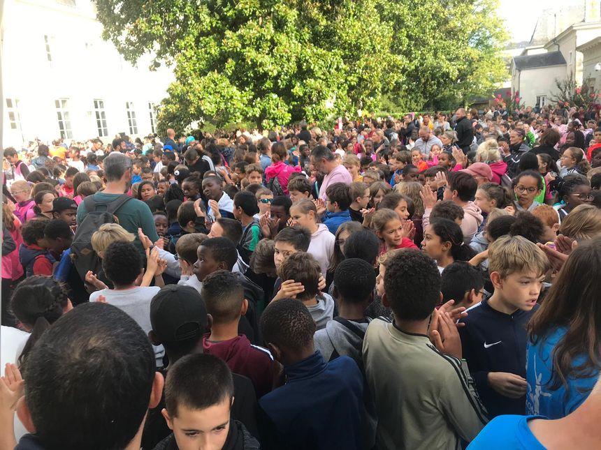 Plus de 1.500 enfants se sont élancés dans la course à Laval