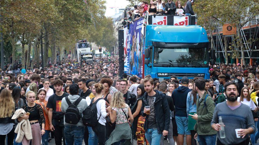 La Techno Parade 2018, dans les rues de Paris.