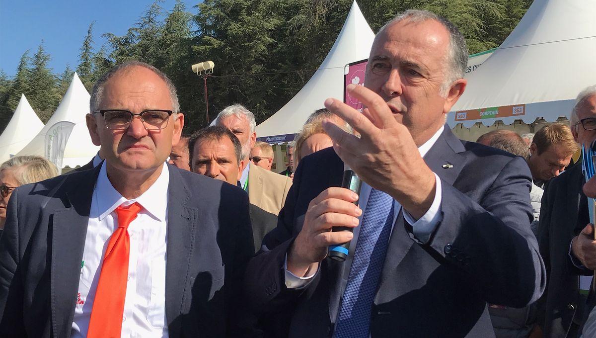 """Didier Guillaume sur les pesticides : """"arrêtons de nous diviser !"""""""