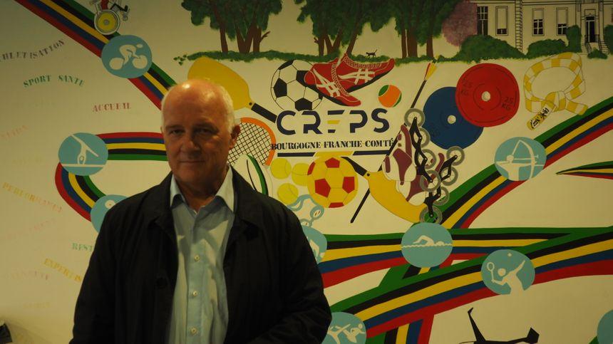 Pascal Bonnetain, directeur du Creps de Bourgogne-Franche-Comté