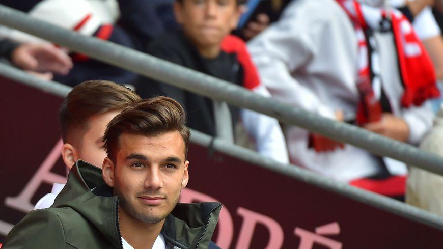 Metehan Güçlü lors du match du Stade Rennais face à Nice le 1er septembre dernier
