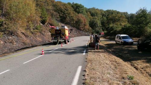 Creuse : un hectare et demi detruit par un incendie à Glénic
