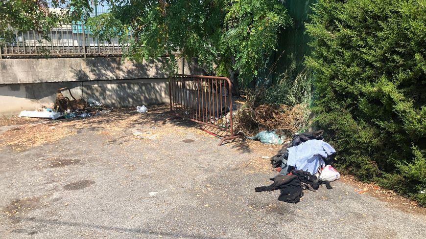 C'est dans cette impasse de la rue du Garigliano que le corps a été retrouvé samedi