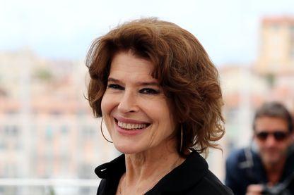 L'actrice, réalisatrice et scénariste Fanny Ardant à Cannes pendant le Festival, le 21 mai 2019.