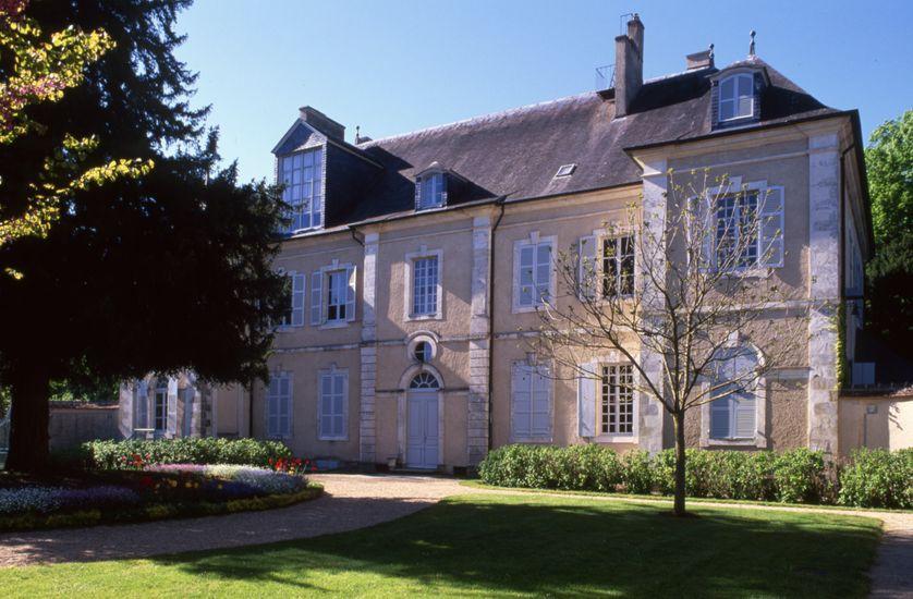 Le domaine de George Sand à Nohant-Vic, dans l'Indre, où Chopin passa sept étés, de 1839 à 1846