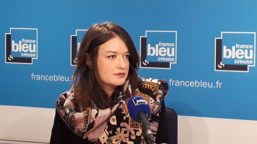 """Delphine Beaussant, psychologue à l'association """"Ecoute et soutien"""""""
