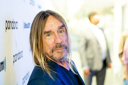 Le chanteur, compositeur et acteur Iggy Pop le 12 septembre 2019 à New York.