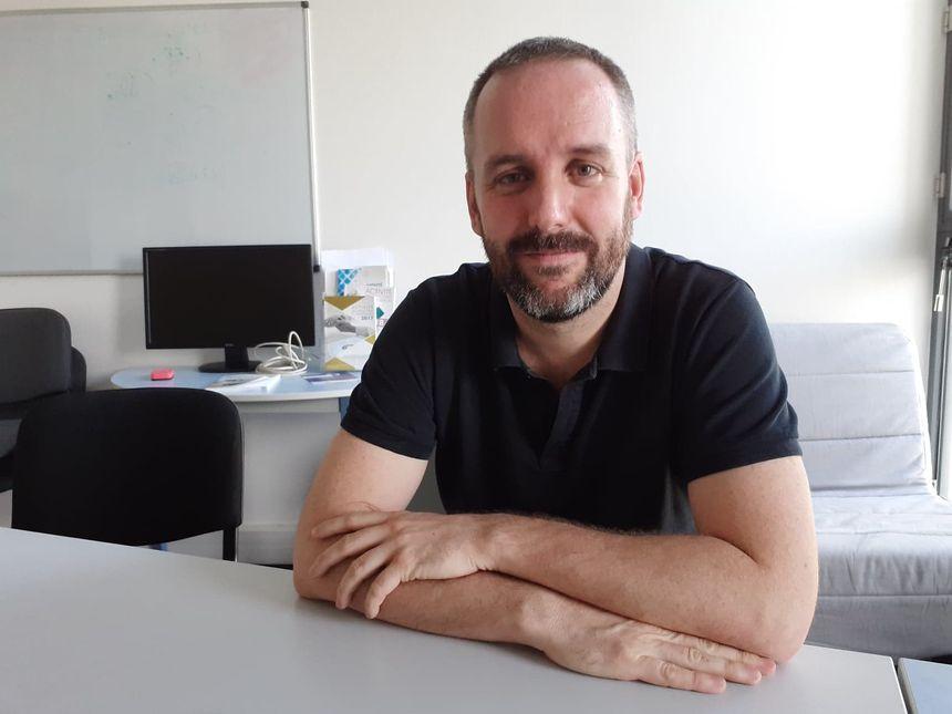 Guillaume Valdenaire, médecin urgentiste démissionnaire au CHU de Bordeaux.