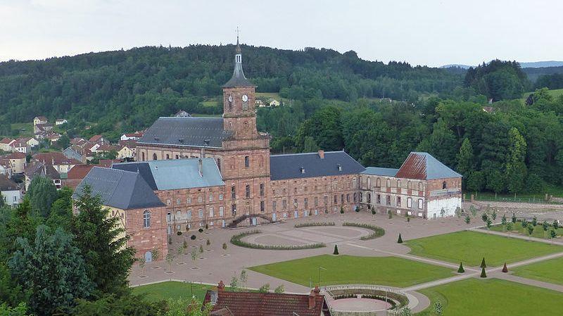 l'abbaye Saint Hydulphe de Moyenmoutiers
