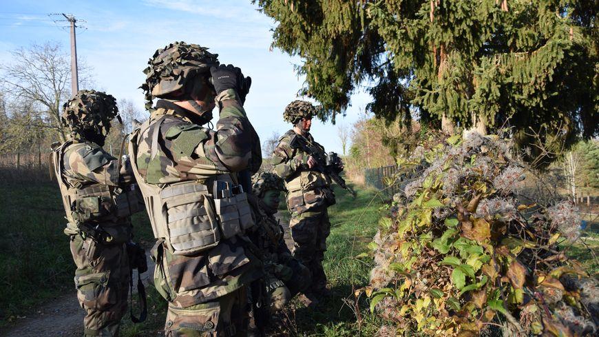 Des soldats de la 2ème brigade blindée en exercice (photo d'illustration)