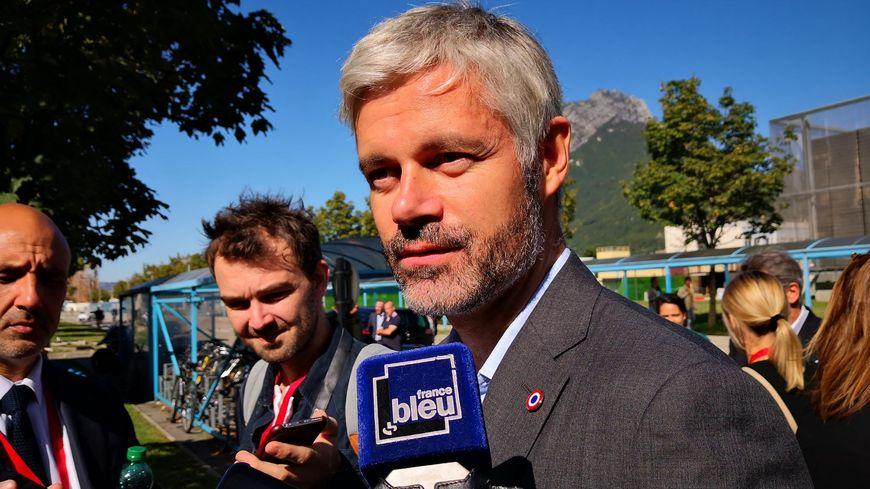 Pour Laurent Wauquiez, la situation à Grenoble est inacceptable