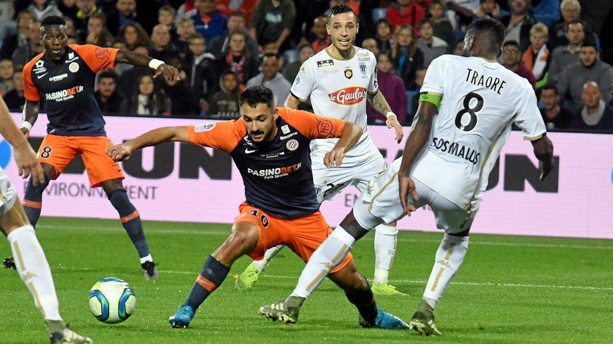 Gaëtan Laborde espère marquer son premier but en match officiel cette saison