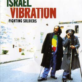 """Pochette de l'album """"Fighting soldiers"""" par Israel Vibration"""