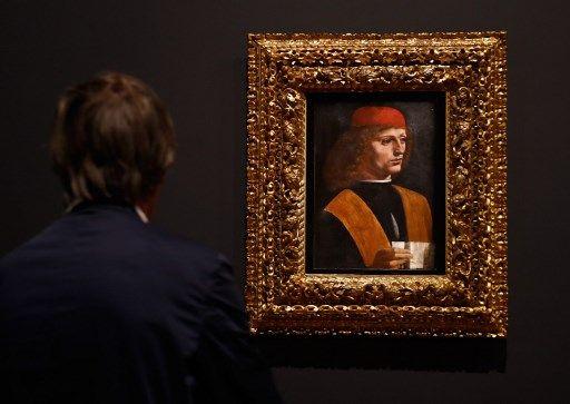 """Léonard de Vinci à Paris """"Portait de musicien"""""""