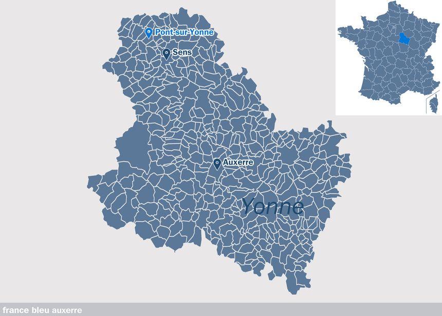 Pont-sur-Yonne, dans l'Yonne