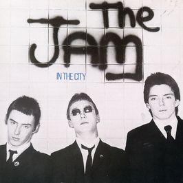 """Pochette de l'album """"In the city"""" par The Jam"""
